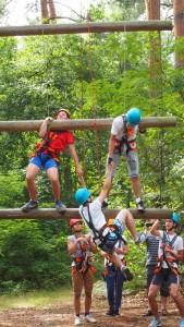 Klettercamp, Spaß, Gruppendynamik, über uns