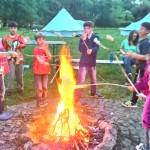 Kinder Freizeit Feuer