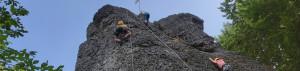 Kletterfreizeit in der Fränkischen Schweiz für Kinder und Jugendliche