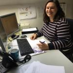 Tanja, unsere Logistikerin und Kundenbetreuerin