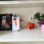 Die Kunstwerke unserer Kinder bekommen auch einen Platz